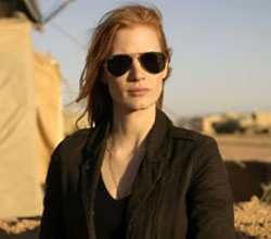 Jessica Chastain in Zero Dark Thirty - GOOD AT ACTING