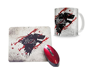 KIT CANECA + MOUSEPAD GAME OF THRONES