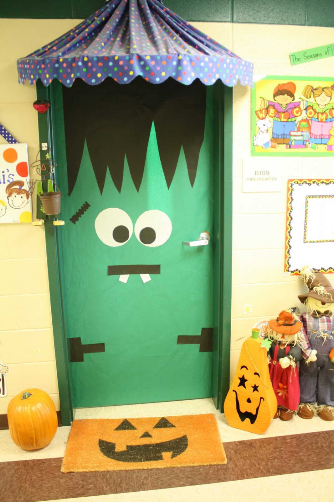 Classroom Door Decor For Fall ~ Ms marzoni s class all about fall
