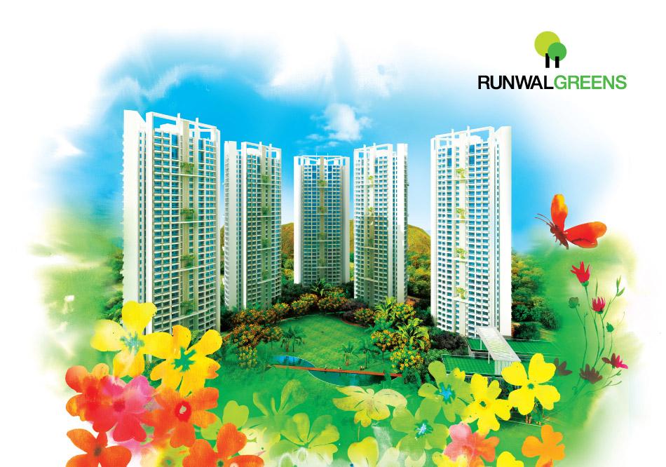 Mulund West Runwal Group Runwal Greens 2bhk 2 5bhk 3bhk 3 5