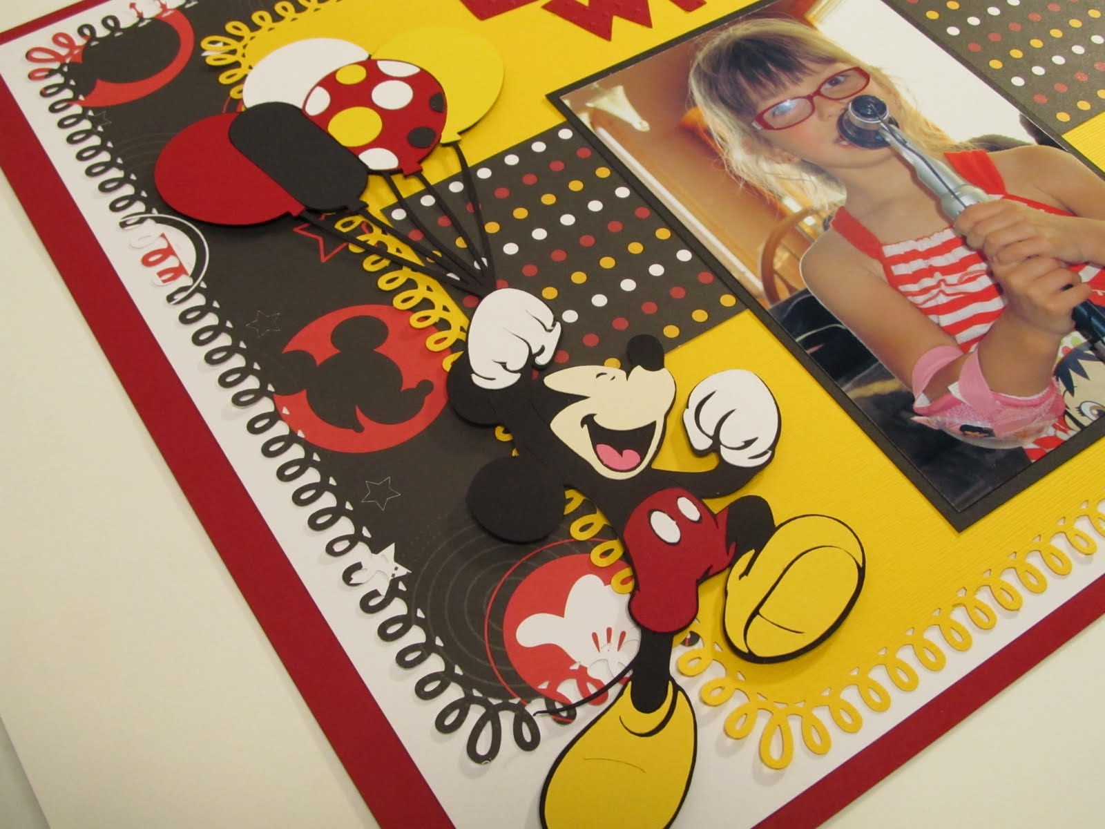 Creative Cricut Designs More Mickey Minnie 5th Birthday