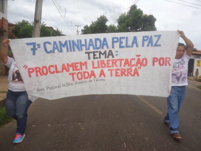 VII CAMINHADA PELA PAZ (Distrito Piauí)