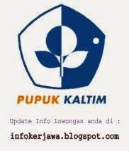 Lowongan Kerja PT Pupuk Kaltim (Kalimantan Timur)