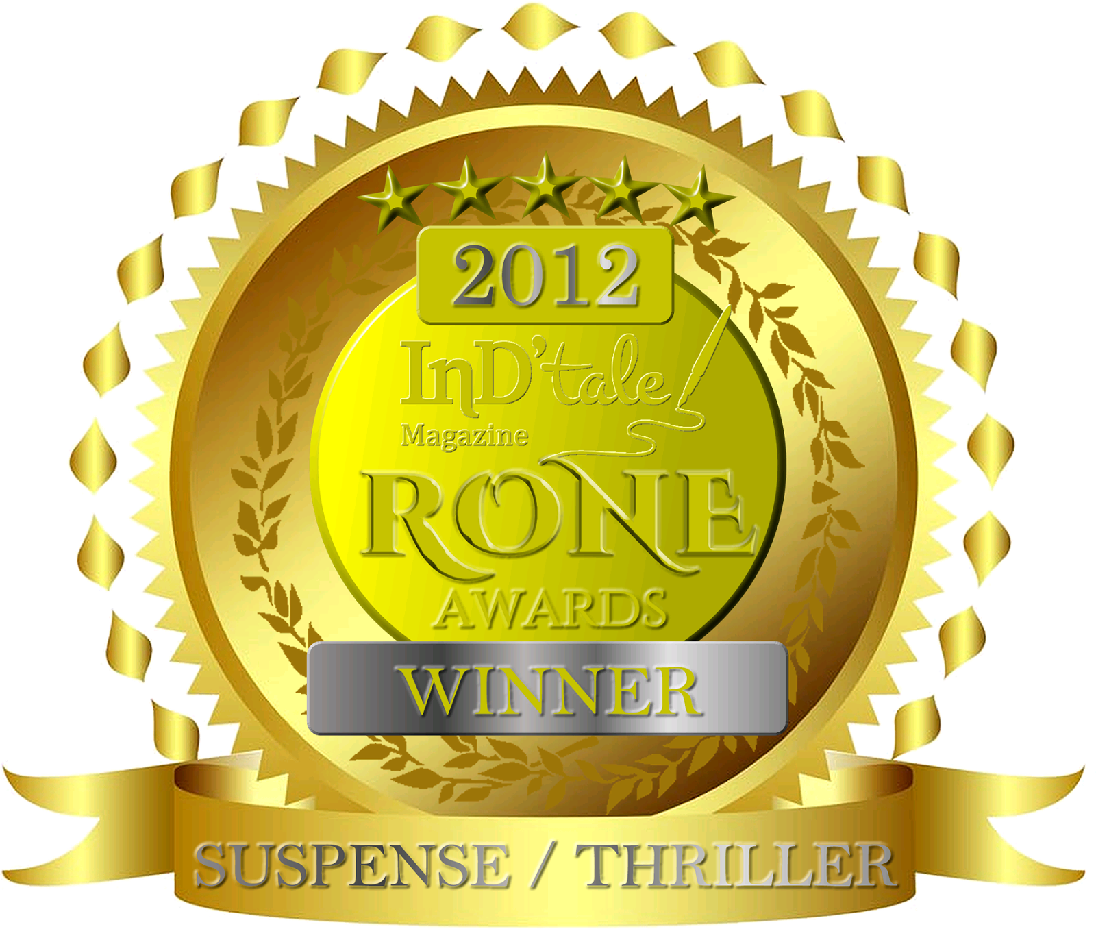 My Novel All Fall Down Won the RONE Award for Best Suspense!