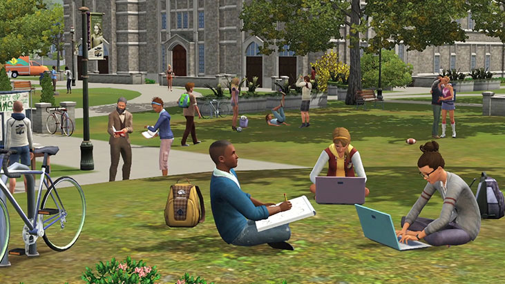 The Sims 3 University Life for PC/Mac