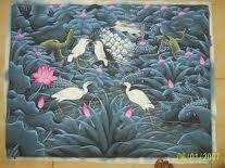 kisah dan cerita teladan seorang ibu dan seorang anak gadisnya serta burung bangau