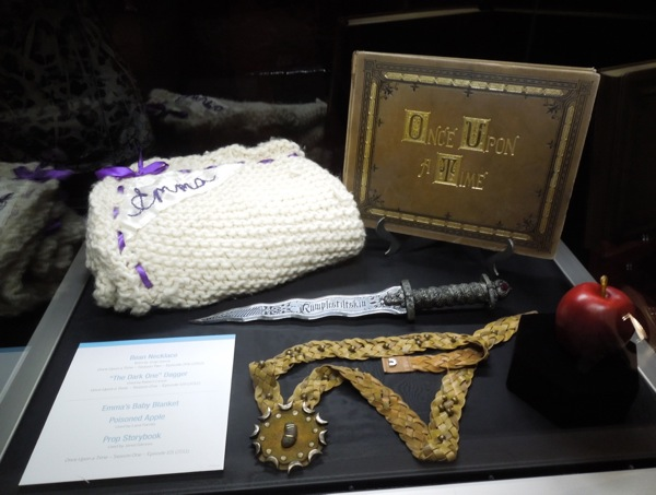 Original Once Upon a Time TV props