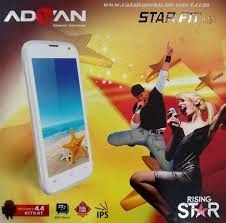 Harga Advan Vandroid Star Fit Terbaru, System Operasi Android v4,4,2 KitKat Lengkap Spesifikasi