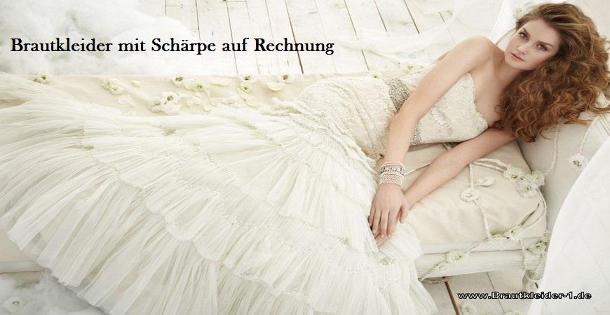 Brautkleider mit Schärpe: Brautkleid mit Schärpe - günstige ...