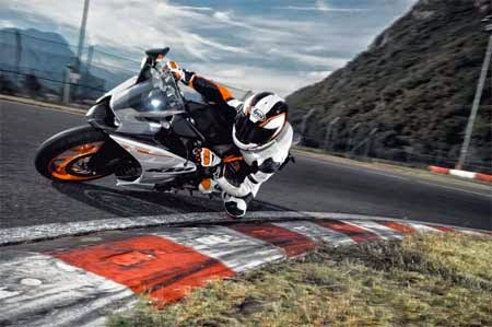 koleksi gambar motor KTM RC390