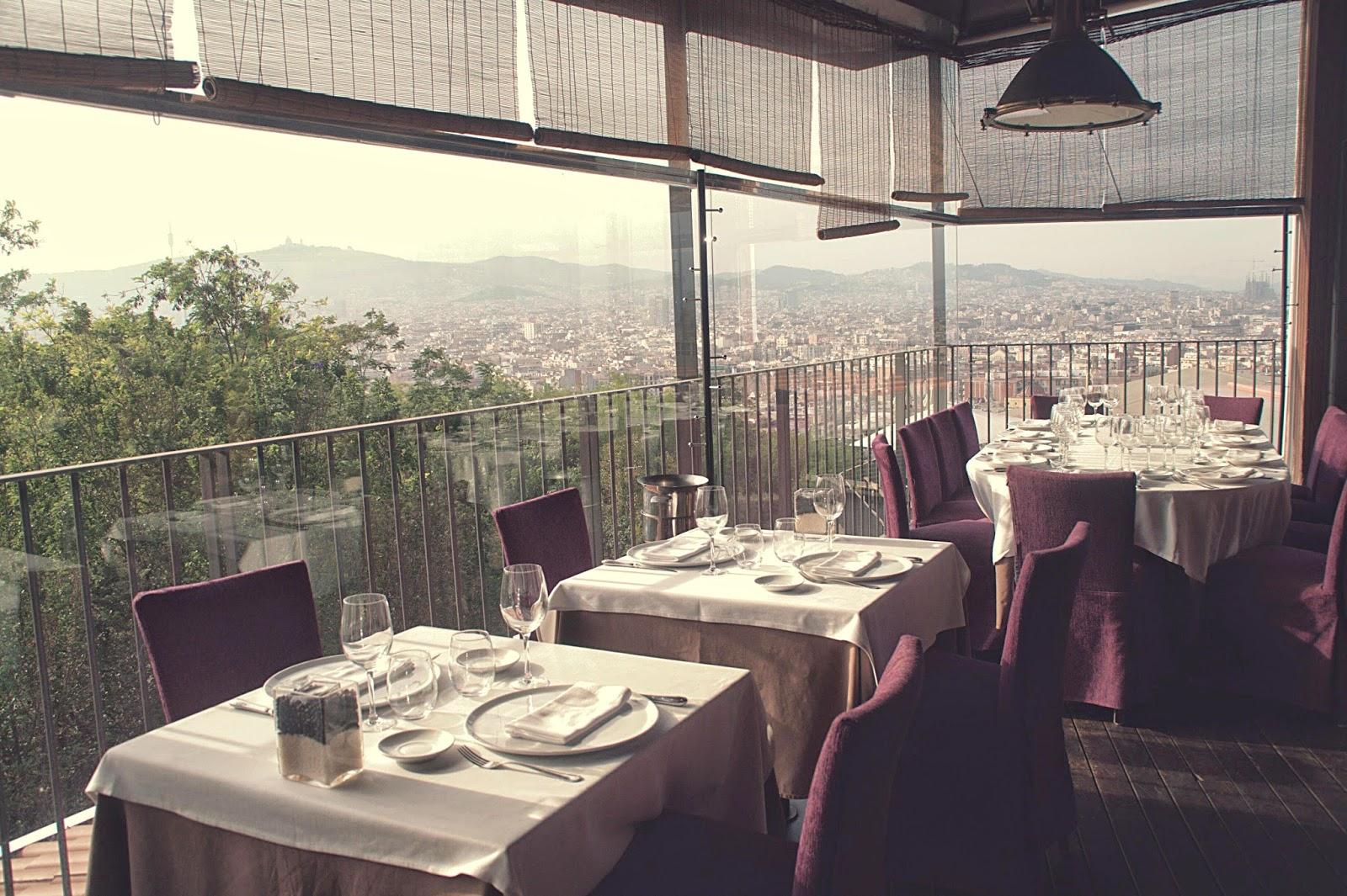 terraza El Xalet Barcelona Montjuic