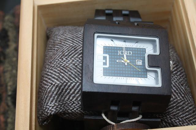 Jord 94A Wooden Watch