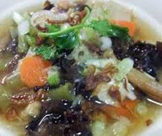 Resep masakan indonesia sup kimlo khas solo spesial (istimewa) praktis mudah sedap, gurih, enak, nikmat lezat