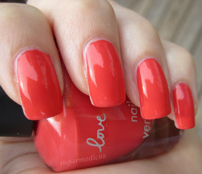 Forever 21 Love & Beauty Coral Swatch