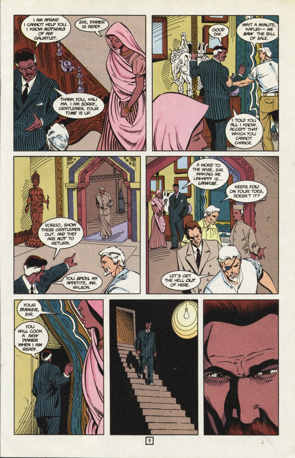 Deathstroke (1991) Issue #31 #36 - English 10