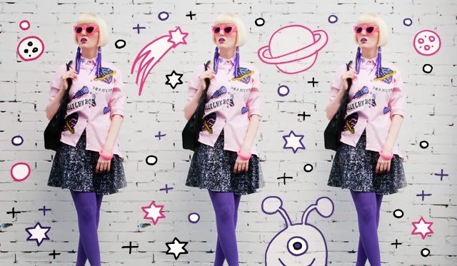 jumpfrompaper, quayeyeware, quay sunglasses, ufo party look