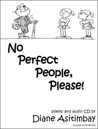 photo of No Perfect People Poetry book