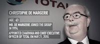CEO of France's Total dies