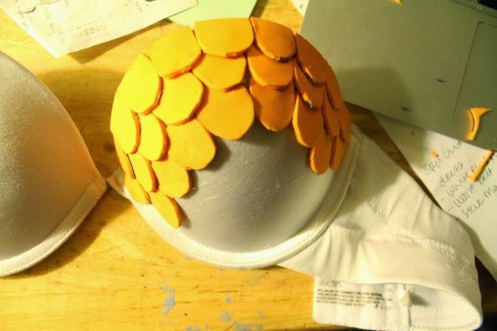 EVA Craft foam scales cosplay