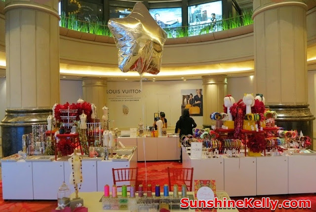 Sereni & Shentel, Bowerhaus, Pop Up Store, Starhill Gallery, headbands, jewelry