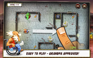 Grandpa and the Zombies Funny Android Game Download,