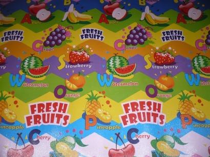 TIKAR SPON PRINTING FRUIT