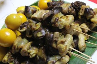 Resep Masakan Sate Jerohan
