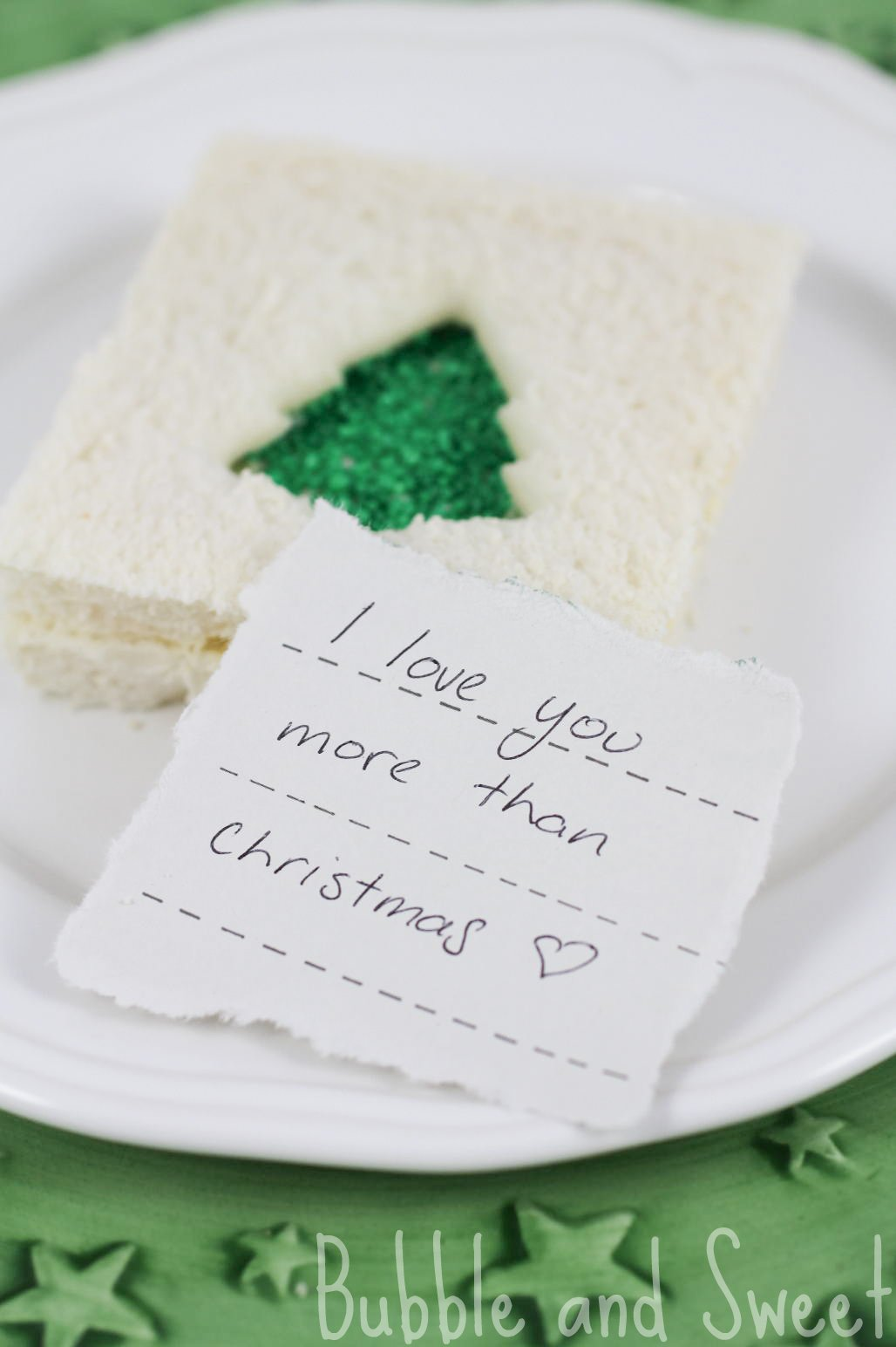 I Love You More Than Quotes Bubble And Sweet I Love You More Than Christmas Kids Lunch Treats