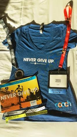 MGM Grand, Las Vegas, Team Beachbody, Beachbody Coach Summit, Shaun T, never give up