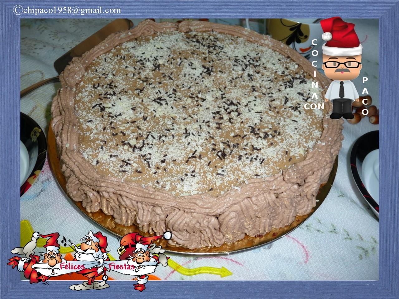 Cocina con paco tarta de chocolate y moca - Cocina con paco ...