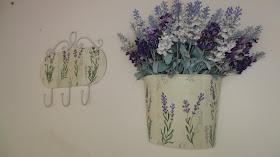Arranjo floral / ganchos para área externa