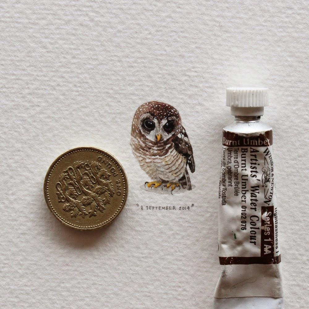 Artwork creative Miniature Paintings by Lorraine Loots