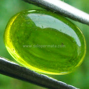 Batu Permata Green Peridot - SP823