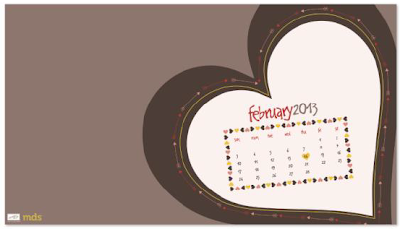 Box Of Chocolates February Wallpaper - Digital Download