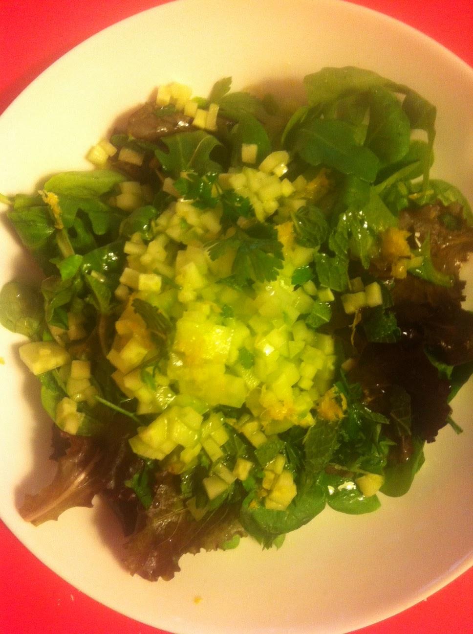 Femkie food makreel maar dan vers for Vers de salade