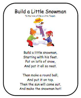 Go Back > Gallery For > Snowman Poems For Kids