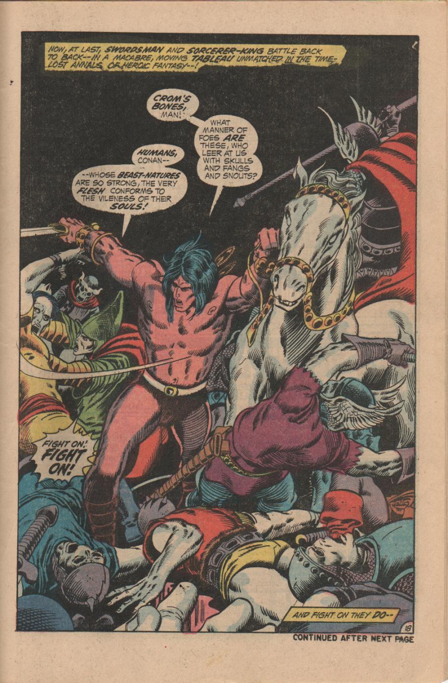 Conan the Barbarian (1970) Issue #14 #26 - English 19
