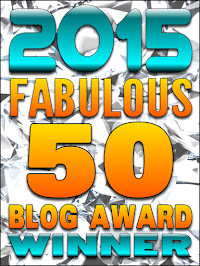 Winner - 2015 Fabulous 50 Blog Awards
