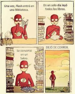 EL SUPER HOMBRE QUE SE CONVIRTIÓ EN UN SABIO