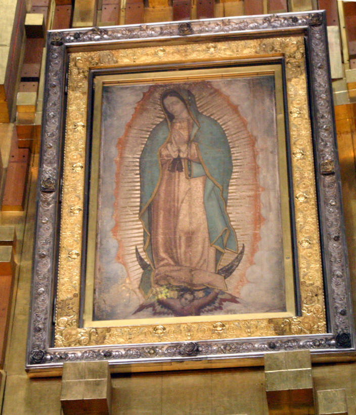 Our Lady Of Guadalupe  Feast Day December 12