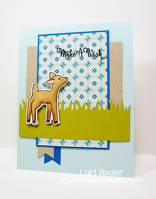 Storybook Wishes card-designed by Lori Tecler/Inking Aloud-stamps from Avery Elle
