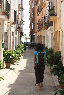 Street in Blanes