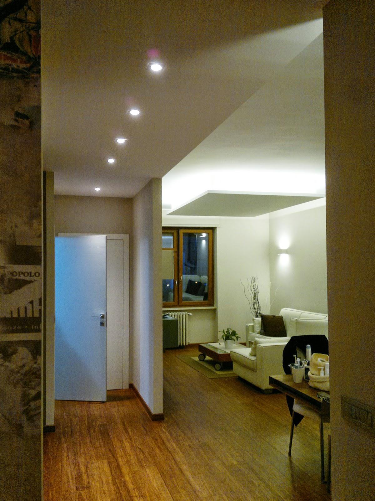Illuminazione Corridoio Faretti: Galleria immagini interni energy di semenzat...
