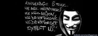 Photo de couverture Facebook Anonymous