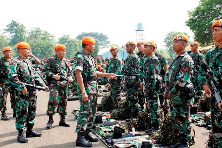 Dankorpaskhas : Latgab TNI Paskhas Mampu Tampil Maksimal
