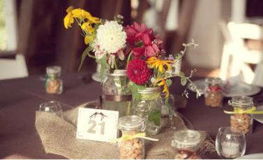 Mason Jars For Wedding Decorations