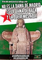 No es la Dama de Madrid, es la Dama de Baza y la queremos aquí