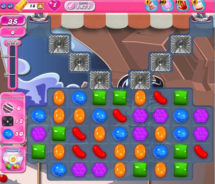 Candy Crush Saga 1471