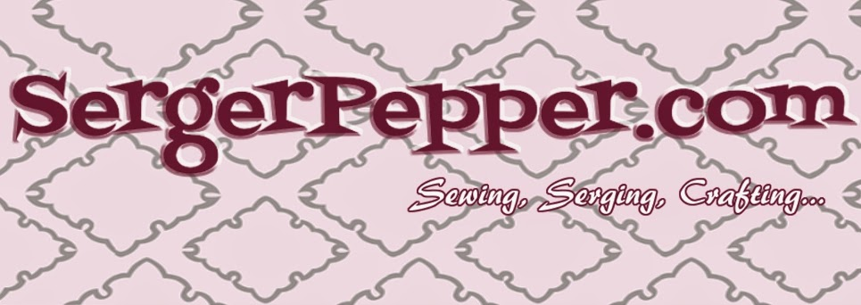 Logo serger pepper patterns