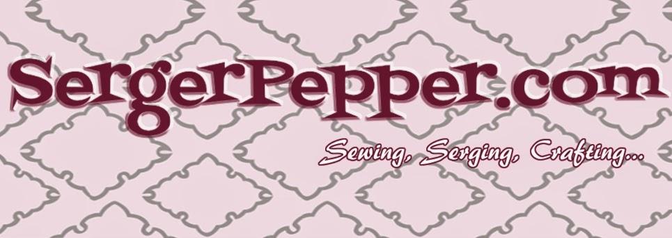 Logo serger pepper patterns